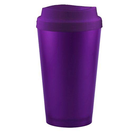 Copo Higienizador e Porta Copo 2 em 1 Violeta Cup