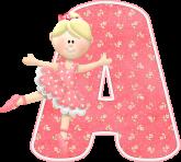 Alfabeto - Bailarina 1 - PNG