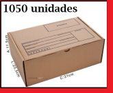 Caixa de Papelão para envio Correio Parda 1050 unidades