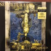 SEPULTURA- Chaos A.D. - LP (Gatefold, new remastered on 180g vinyl)