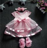 Vestido 3 Peças Cód 145