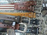 Cinto de couro, masculino, em Uberlândia - vários modelos