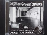 CD - Agathocles / Ravage / Comrades – Benefit To Mince Core Act For Food Not Bombs