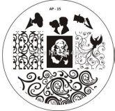 Born Pretty BP 15 placa de carimbo