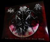 3-way Split Digipak (Can/Ita/Ukr) - Rape Their Souls With...