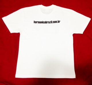 Camisetas Harmonica Brazil 100% algodão tamanhos P,M,G,