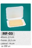 MF-03 BANDEJA ARTICULA P/ FATIADOS C/ 200 UN.