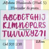 Alfabeto Maiúsculo (Mod.5) Marcador de Pasta RV 238