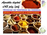 zz  TÉCNICAS DE TEMPEROS NA COZINHA - ERVAS,CONDIMENTOS E ESPECIARIAS