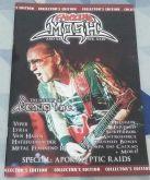 Fanzine Mosh - # 10 Edição Fisica com Venom Inc.