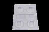 Forma Mini Caixa Quadrada 1un