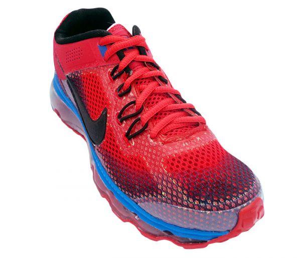 9b7a2ba7135 Tênis Nike Air Max 2014 Vermelho e Azul - LOJA TA NA MODA CALÇADOS