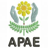 APAE - Associação de Pais e Amigos dos Excepcionais Matriz para Bordar
