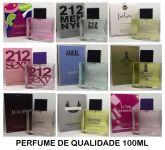 20 PERFUMES IMPORTADO CONTRATIPO 100 ML - FRETE GRÁTIS