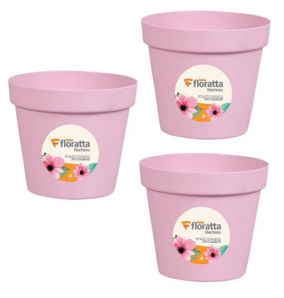 Vaso redondo Floratta NR 19 Rosa