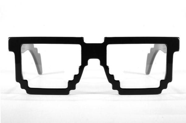 0d899ef7356c9 Óculos Pixel Armação - bugigangas