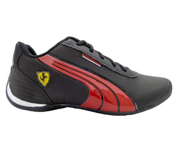 3c407fa099bd0 Tênis Puma Ferrari Drift Preto e Vermelho MOD:12607 - tenispravoce