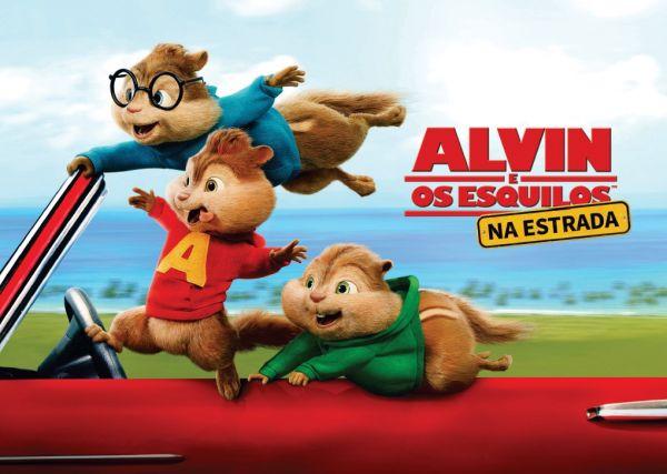 Papel Arroz Alvin e os Esquilos A4 001 1un