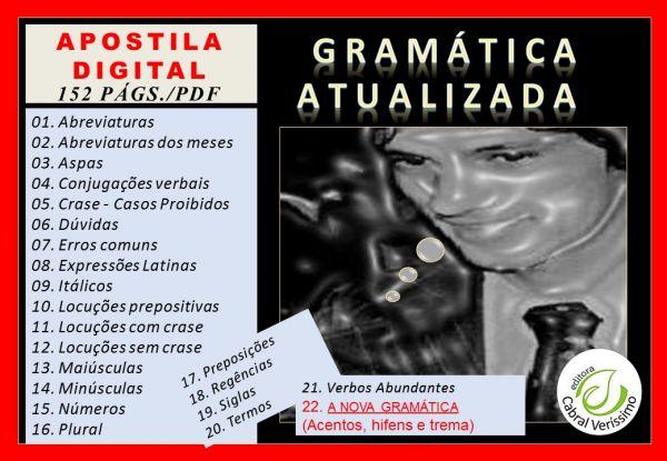 zz  GRAMÁTICA  ATUALIZADA