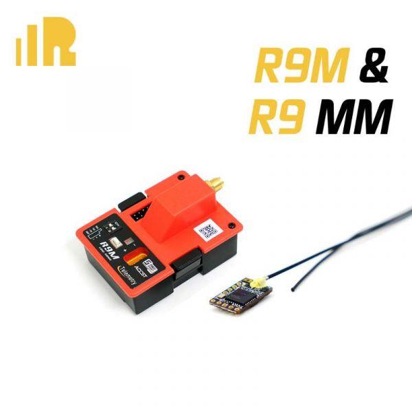 Modulo 900Mhz  Frsky R9M + 01 Receptor R9mm