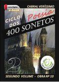 Z-10) Ciclo dos 400 Sonetos - vol. II > 214 págs