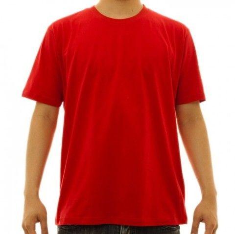 Camisa de malha colorida algodão