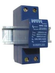 MPR-4-100 DPS Classe I Monofásico p/ Quadro de Entrada de Energia 380V 100kA