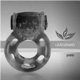 ANEL COM VIBRO SIMPLES K-IMPORT LEAOZINHO PRETO K-IMPORT