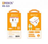Kit Carregador Micro USB HREBOS HS-315