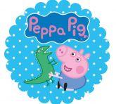 Papel Arroz Peppa Pig Redondo 008 1un