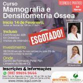 Curso de Mamografia e Densitometria Óssea - Presencial