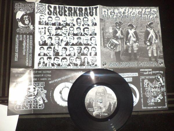 Agathocles/Sauerkraut - split '7 ep