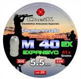 M 40 EX LATÃO 300 UNIDADES