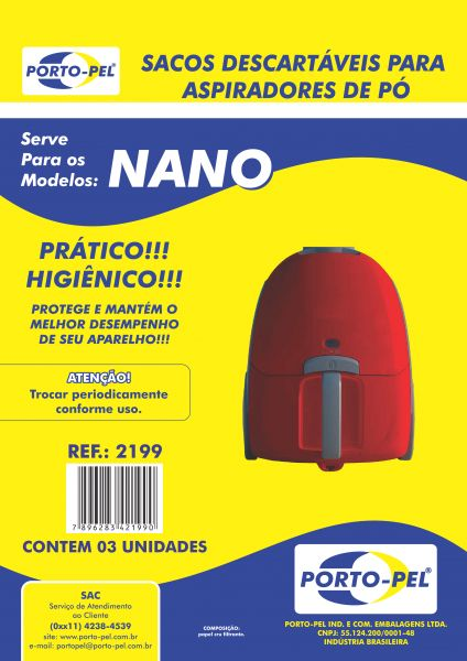 REF:2199 COMPATIVEL ELECTROLUX NANO - NEO30 - NEO31 (SBENA)