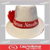 021152 - Chapéu de Napa Decorado Maria Navalha