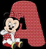 Alfabeto - Minnie Baby 2 - PNG