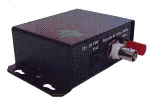 FM-FO-VT-4K Transmissor de Vídeo p/ Fibra Multimodo até 4 km - 1 Canal