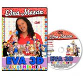 DVD - Edna Massan - EVA 3D - FESTA INFANTIL