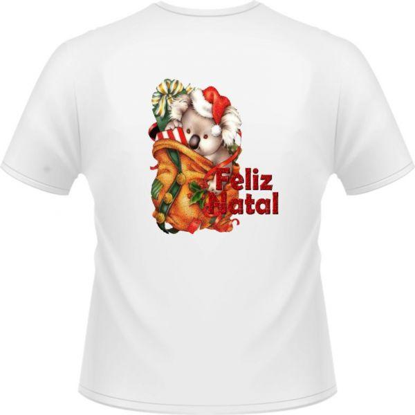 2a584acf875b8 Camiseta Feminina Natal - Estampa da moda