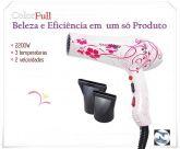 Secador De Cabelos Power Lizze® Profissional 2200 W