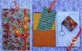Kit caderneta, chaveiro e marca página Mosaico