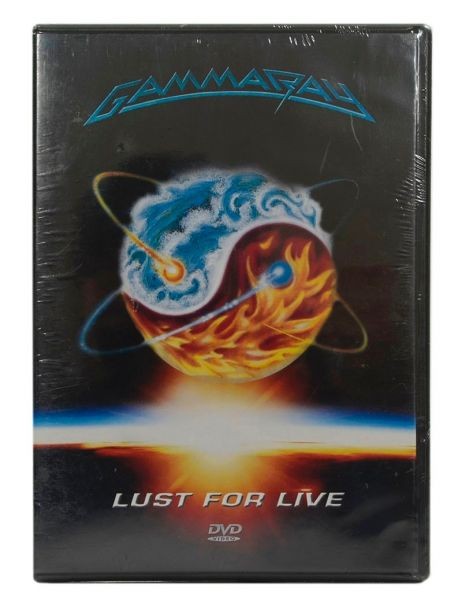 DVD - Gamma Ray - Lust For Live