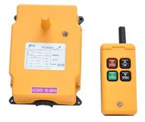 JIC-4 Botoeira sem Fio (Wireless) 4 botões / 2 comandos