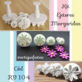 Kit Ejetores Margaridas- RV 104