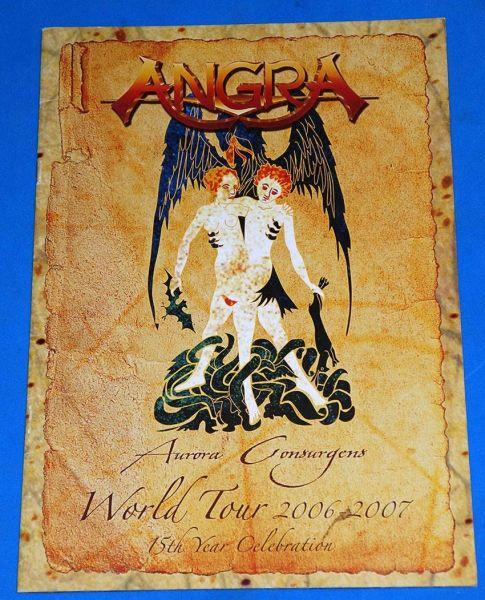 Angra - Aurora Consurgens World Tour - 20062007 Tourbook