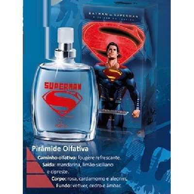Colônia Desodorante Jequiti Superman, 25ml