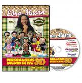DVD - Edna Masan - Personagens Infantis em EVA 3D - Volume