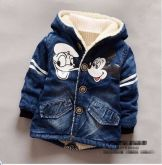 Casaco Jeans Mickey - Donald