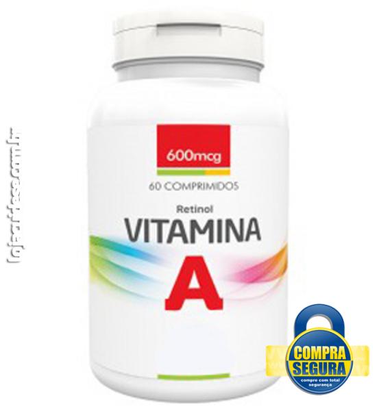 VITAMINA A 600mcg - 60 COMPRIMIDOS (retinol)