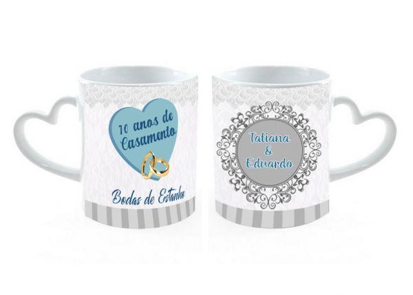 Caneca Love Porcelana